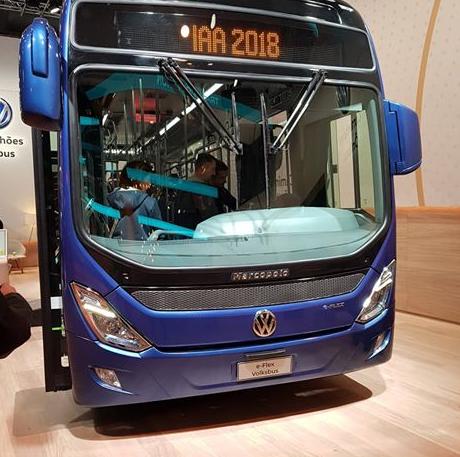 ônibus Volksbus e-flex será testado em São Paulo