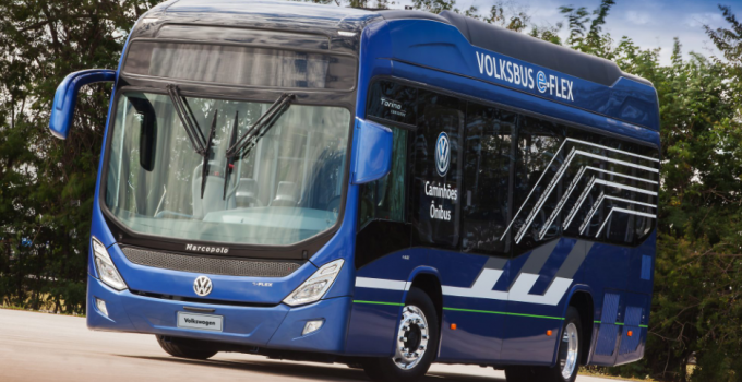 Volksbus e-flex: ônibus híbrido projetado no Brasil