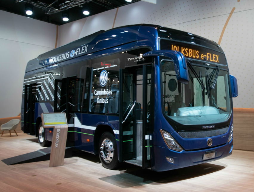 Volksbus ônibus híbrido