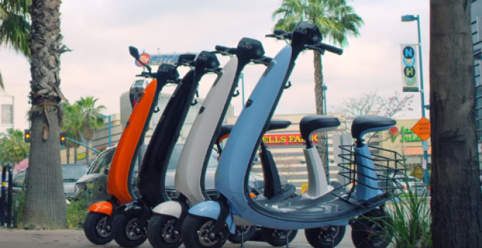 Ojo electric scooter elétrica prática