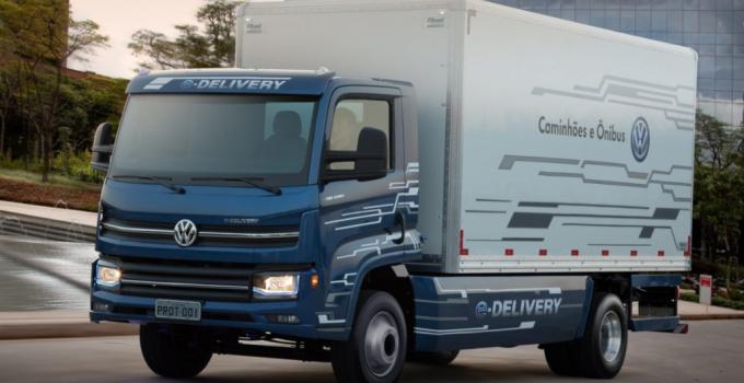 Ambev e Volkswagen fecham parceria para utilizar 1,6 mil caminhões elétricos