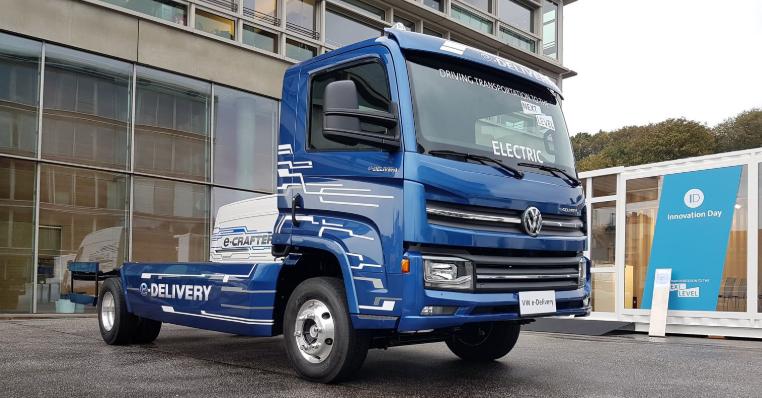 e-delivery caminhão elétrico
