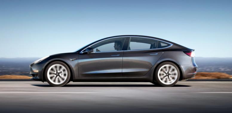 Tesla Model 3 teste de colisão