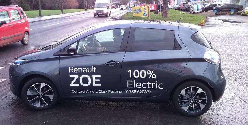 Renault e MRV parceria para carro elétrico Zoe