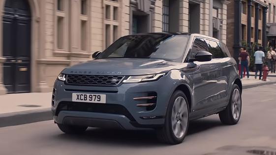 Range Rover Evoque 2020 conta com sistema híbrido leve