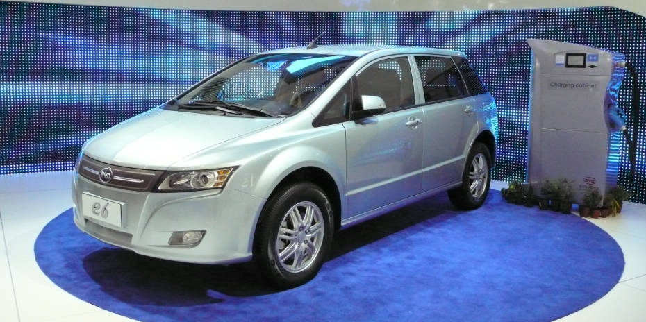 BYD electric e6