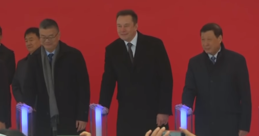 Elon Musk Gigafactory Xangai