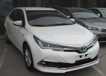 Corolla híbrido será produzido no Brasil em 2019