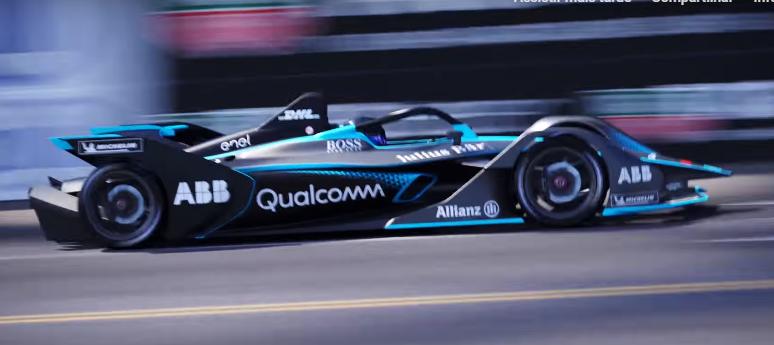 GEN2 ganha design futurista Fórmula E