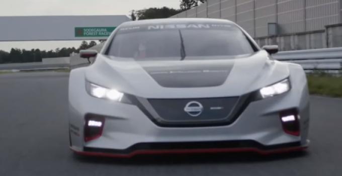 Nissan Leaf Nismo RC é versão de corrida do Leaf