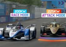 Modo de Ataque dá mais potência aos carros elétricos da nova temporada da Fórmula E
