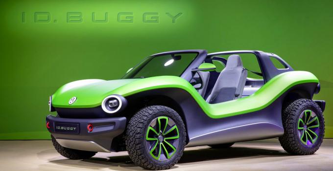 Buggy elétrico Volkswagen é lapresentado