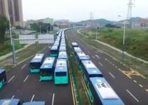 Cidade chinesa é a primeira com frota de ônibus elétrico