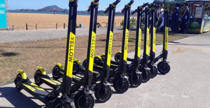 Yellow oferece compartilhamento de scooters e bicicletas elétricas