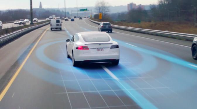 Tesla carro autônomo