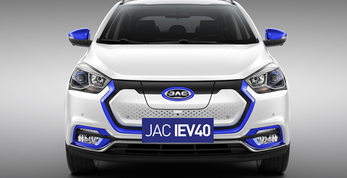 JAC iEv40 chega ao Brasil em junho