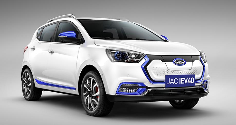 JAC iEV40 carro elétrico