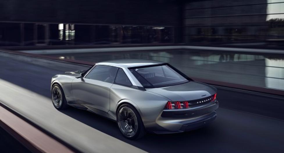 e-Legend carro elétrico Peugeot