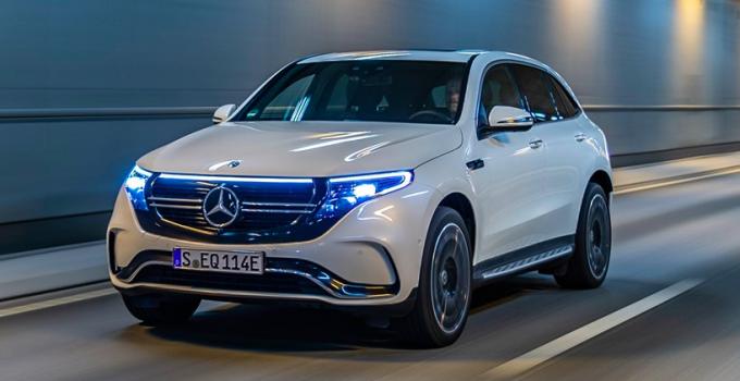 Mercedes-Benz EQC chega ao Brasil em 2020