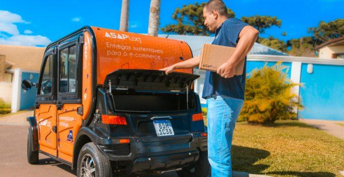 ASAP Log e Hitech Electric fecham parceria para diminuir frete de entregas