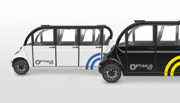 Carros autônomos Optimus NY