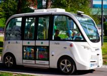 ônibus elétrico autônomo