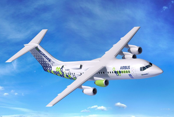 Avião elétrico Airbus