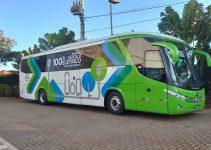 primeiro ônibus elétrico articulado