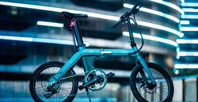 bicicleta elétrica dobrável
