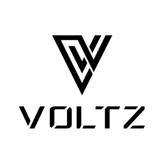 Logo da Voltz Motorz, desenvolvedora da scooter EV1, uma moto elétrica