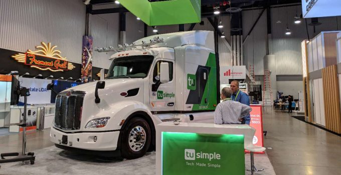 TuSimple Arrecada US$ 250 milhões para caminhões autônomos