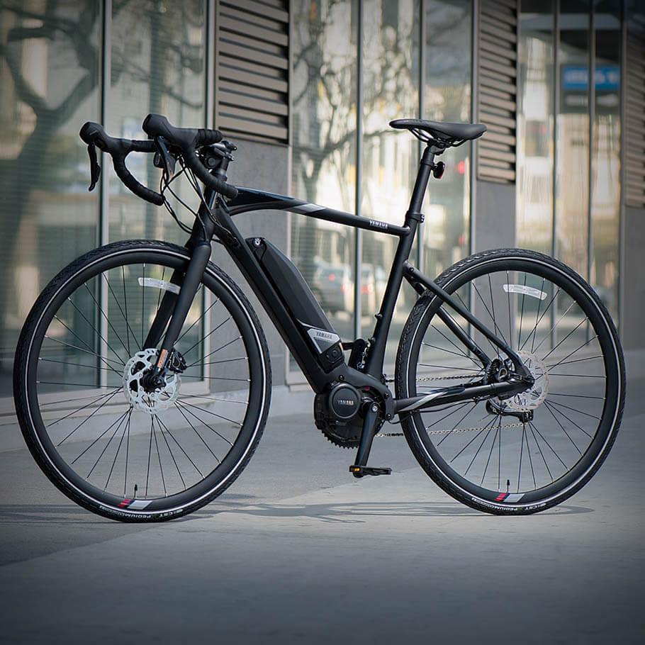 Bicicleta elétrica Yamaha: Linha Road urbanrush