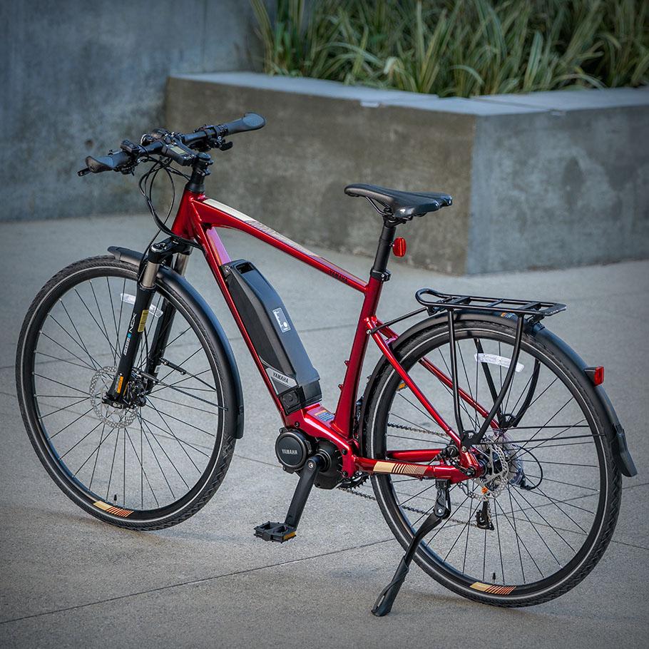 Bicicleta elétrica Yamaha: Linha Fitness/Lifestyle crossconnect