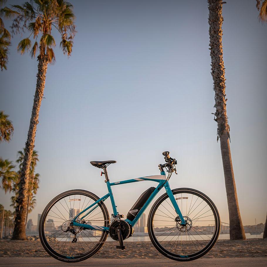 Bicicleta elétrica Yamaha: Linha Fitness/Lifestyle  CrossCore
