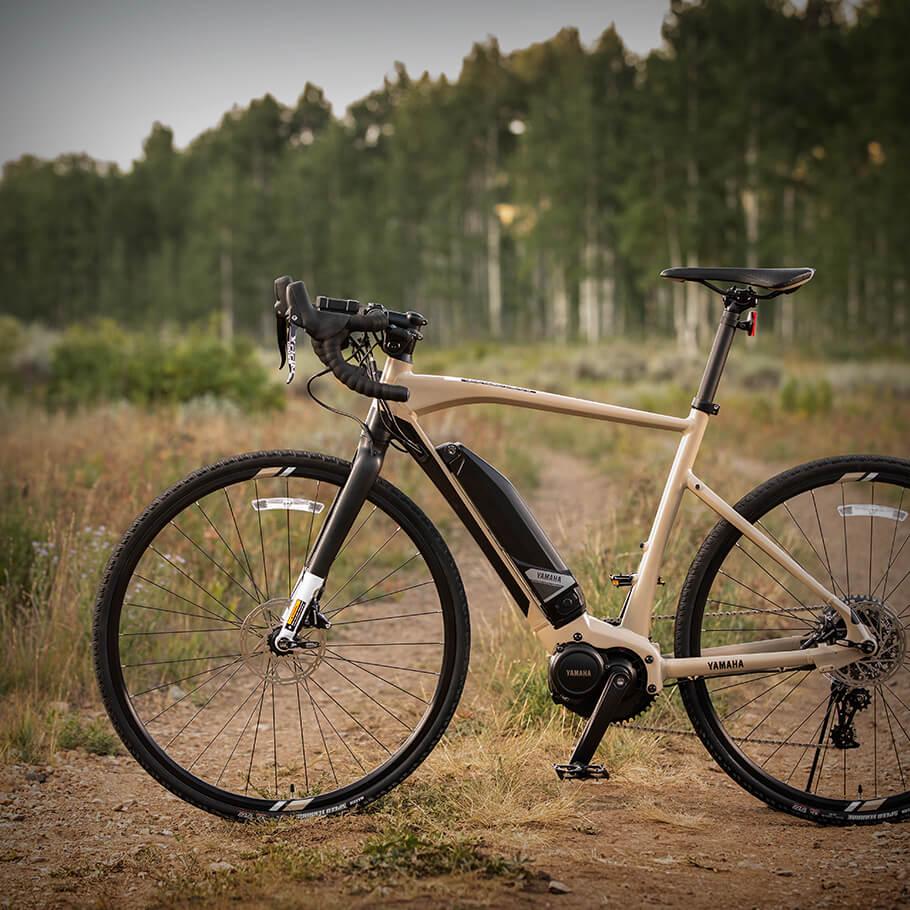 Bicicleta elétrica Yamaha: Linha Road wabash