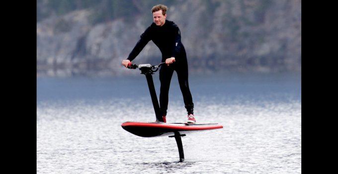 Prancha de surfe elétrica HydroFlyer