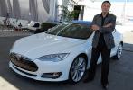 Elon Musk e Model S Tesla
